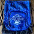 Disney Bags   Disney String Backpack   Color: Blue   Size: Os