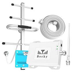 AT&T Cell Phone Booster Band 12/17, Cell Phone Antenna Amplifier LTE 4G Signal Booster Kit Boost Mobile Data Network, ATT Cell Phone Signal Booster for Home/Office