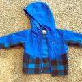 Columbia Jackets & Coats   Columbia Baby Fleece Jacket Blue Buffalo Check   Color: Black/Blue   Size: 12-18mb