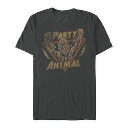 Fifth Sun Men's Tee Shirts CHARCOAL - Star Wars Charcoal Chewie Party Rock Tee - Men
