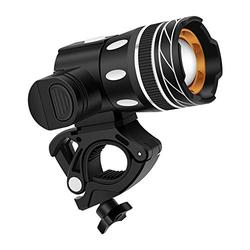 WinPower Bike Light Set, Super Bright Front Headlight for Outdoor Indoor, Waterproof Bicycle Headlight with 3 Light Mode Options (Include 1 USB Cable)