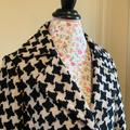 Nine West Jackets & Coats | Nine West Cropped Jacket | Color: Black/Tan | Size: 8