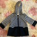 Kate Spade Jackets & Coats | Kate Spade Rain Coat Jacket Like New | Color: Black/White | Size: 12mb