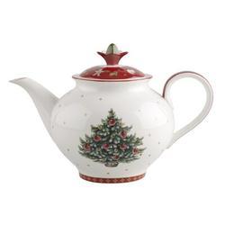 Villeroy & Boch Toy's Delight 50.75 oz Porcelain Teapot Porcelain China/Ceramic in White, Size 8.5 H x 10.0 W x 9.0 D in   Wayfair 1485850560