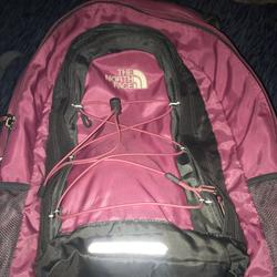 The North Face Bags | North Face Book Bag (Jester) | Color: Pink | Size: Medium Sized Duffel Bag