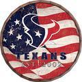 "Fan Creations (FANIF) NFL Indianapolis Colts Unisex Houston Texans Flag 16"" Barrel Top, Team, 16"""