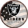 "Fan Creations NFL Las Vegas Raiders Unisex Oakland Raiders Flag 16"" Barrel Top, Team, N/A"