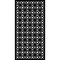 Matrix Decor Screens 6 ft. H x 3 ft. W Vinyl Privacy Screen Vinyl in Black, Size 70.87 H x 35.44 W x 0.4 D in   Wayfair B-OR1809F-CH-D
