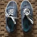 Vans Shoes | 2$45 Tweed-Like Vans | Color: Blue/Gray | Size: 7