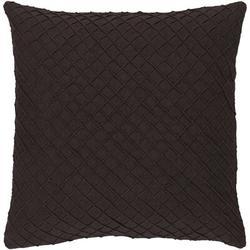 Birch Lane™ Clarkesville Linen Throw Pillow 100% Linen/Linen in Brown, Size 18.0 H x 18.0 W x 0.25 D in   Wayfair WLAO1536 40852981