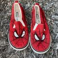 Disney Shoes | Boys Spider Man Shoes | Color: Red | Size: 10b