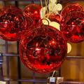 Disney Holiday | Disney Mickey Minnie Ears Jingle Bells Bauble | Color: Red | Size: Os