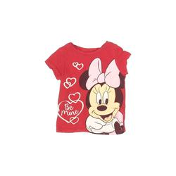 Old Navy Short Sleeve T-Shirt: Red Solid Tops - Size 18-24 Month