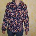 Levi's Jackets & Coats | Levi'S Paisley Floral Print Jacket | Color: Blue/Red | Size: M