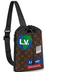 Louis Vuitton Bags | Louis Vuitton Chalk Sling Bag Backpack Monogram | Color: Brown | Size: 9.4h 7.9w 3.1d