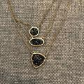 Madewell Jewelry   Madewell Layered Necklace   Color: Black/Gold   Size: Os