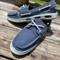 Columbia Shoes   Columbia Waterproof Deck Shoe- Nwot Blue & White   Color: Blue/White   Size: 9