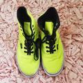 Vans Shoes | (Unisex) Neon Vans! | Color: Black/Yellow | Size: 6.5