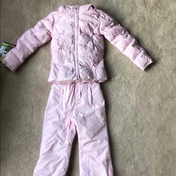 Ralph Lauren Jackets & Coats   Girls Pink Snowsuit   Color: Pink   Size: 4tg
