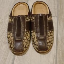 Coach Shoes   Coach Slip On Casual Shoes   Color: Brown/Tan   Size: 6.5