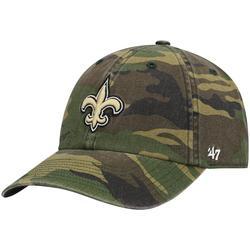 """""""Men's '47 Camo New Orleans Saints Woodland Clean Up Adjustable Hat"""""""
