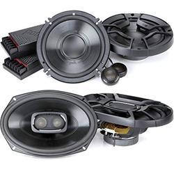 """Polk Audio (DB692+DB6502 Bundle) Polk Audio DB692 DB+ Series 6""""x9"""" Three-Way Coaxial Speakers & Polk Audio DB6502 DB+ Series 6.5"""" Component Speaker System - Black"""