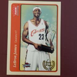 Nike Other | Lebron James Cavaliers Basketball Card Fleer Card | Color: black | Size: Os