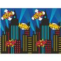 Creative Converting 13 Piece Superhero Favors Party Decoration KitHeavy Duty Paper in Blue/Red/Yellow   Wayfair DTC5761E1A