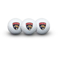 WinCraft Florida Panthers 3 Golf Balls In Clamshell, Multicolor