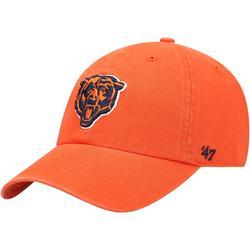 """Men's '47 Orange Chicago Bears Secondary Clean Up Adjustable Hat"""