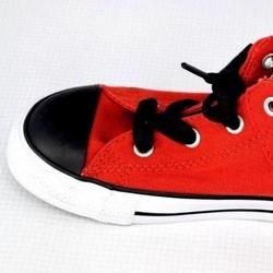 Converse Shoes   Converse All Star Unisex Juniors Casual Shoes   Color: Red/White   Size: 10 Us