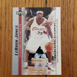 Nike Other | Lebron James Cleveland Cavaliers Basketball Card | Color: black | Size: Os