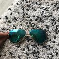 Ray-Ban Accessories   Ray Ban Aviators   Color: Blue   Size: Os