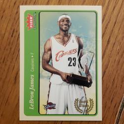 Nike Other | Lebron James Fleer Basketball Card | Color: black | Size: Os