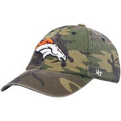 """""""Men's '47 Camo Denver Broncos Woodland Clean Up Adjustable Hat"""""""