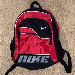 Nike Other | Nike Retro Vintago 90s Small Backpack Redblack | Color: Red | Size: Os