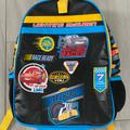 Disney Other | Custom Nico Leather Backpack | Color: Black/Blue | Size: Osb