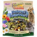 Brown's Tropical Carnival Natural Behaviors Grain-Free Pet Rabbit Daily Diet Food, 4 lbs.