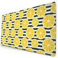 Lemon Slices Large Mouse Pad Gaming Mousepad for Computer Desk Laptop Office 29.5x15.8x0.12 Inches