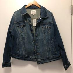 Torrid Jackets & Coats   Denim Jean Jacket   Color: Blue   Size: 1x