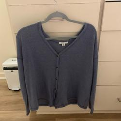 American Eagle Outfitters Tops   Blue Grey Sweater   Color: Blue/Gray   Size: S