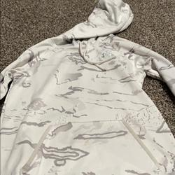 Under Armour Other | Hoodie | Color: White/Silver | Size: Xs Womens