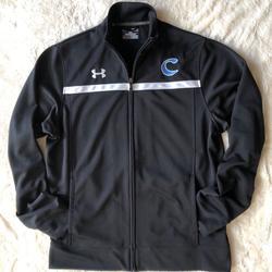 Under Armour Jackets & Coats | Black Under Armour Loose Athletic Zip Jacket | Color: Black | Size: M