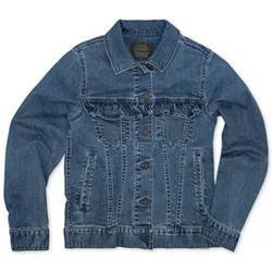 Levi's Jackets & Coats | Levi'S Toddler Girls Ruffle-Trim Denim Jacket | Color: Blue | Size: 3tg