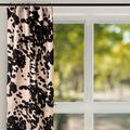 Glenna Jean Faux Cow Skin out Single Curtain PanelCotton Blend in Black, Size 90.0 H in   Wayfair 30316
