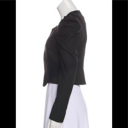 Gucci Jackets & Coats   Gucci Cropped Ls Cocktail Jacket   Color: Black   Size: 4