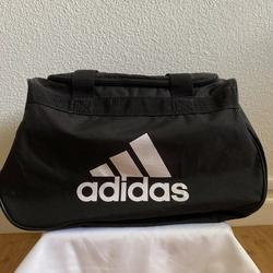 Adidas Bags | Adidas Small Duffel Bag Gym Sport Shoulder Bag | Color: Black | Size: Os