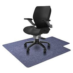 """MAKITESY Office Chair Mat with Lip, Anti-Slip 1/6"""" Thick 48""""x36"""" Office Desk Rug, Multi-Purpose Computer Desk Chair Mat for Hardwood Floor, Fit for Rolling Chairs and Computer Desk"""