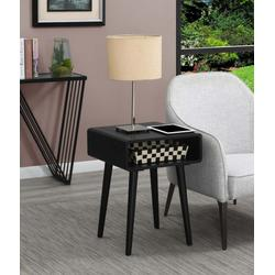 Napa End Table - Convenience Concepts 27-7108045BL