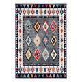Safavieh Rugs Indoor Rugs GREY - Gray & Ivory Geometric Damen Adirondack Rug